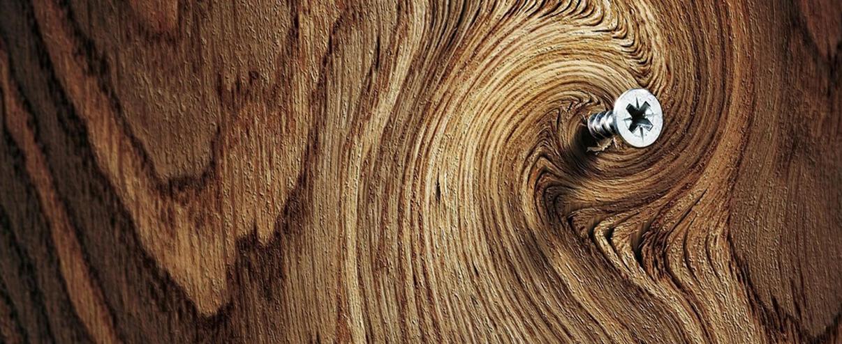 La madera…